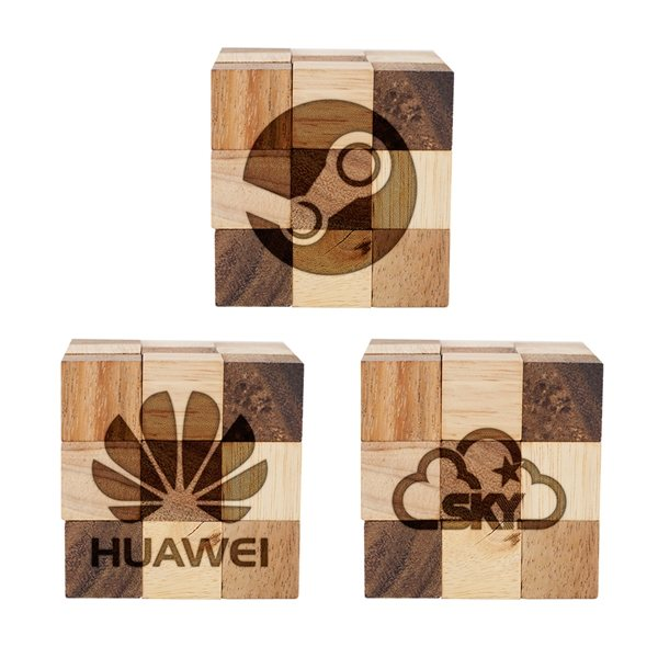 Promotional Copperhead Small Wood Puzzle