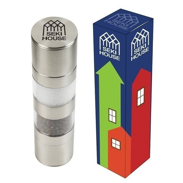 Promotional Salt Pepper Mill With Custom Box