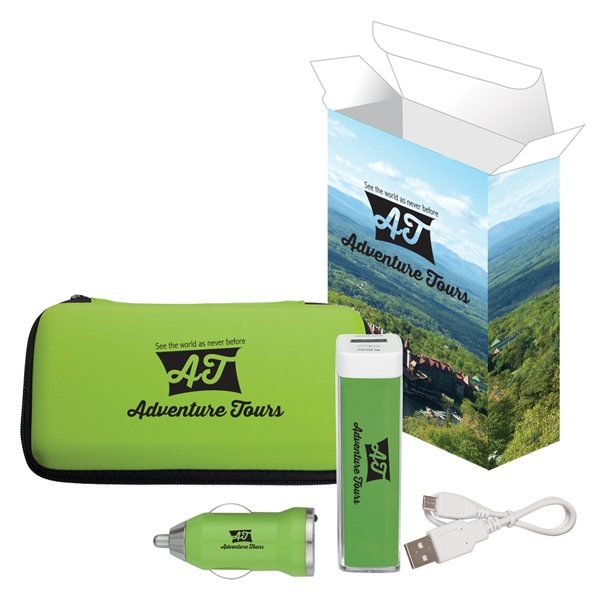 Promotional Deluxe Travel Kit With Custom Box