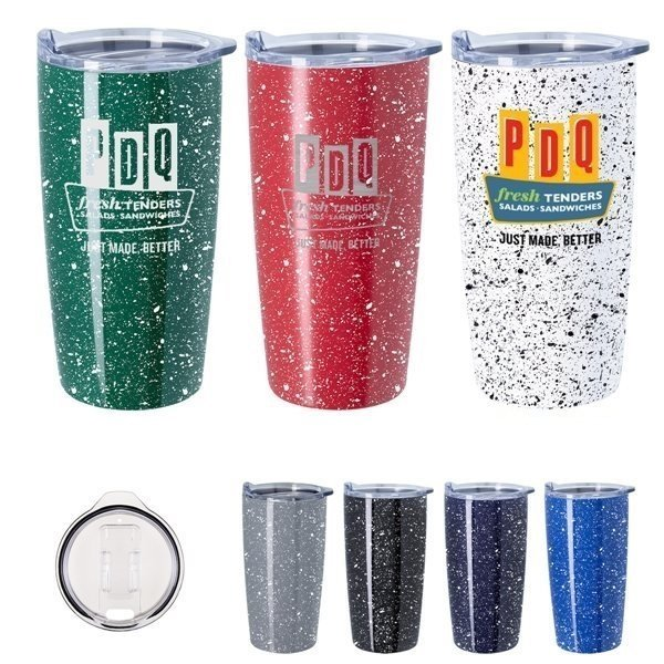 Promotional 20 oz Speckled Himalayan Tumbler With Stuffer