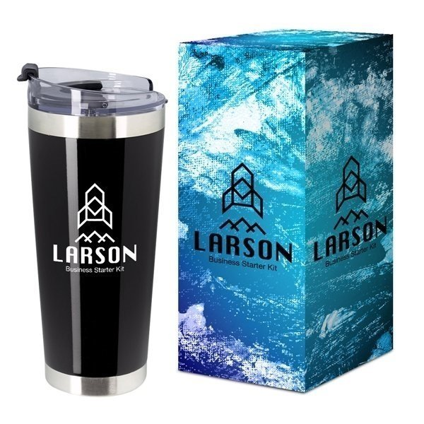 Promotional 28 oz Stainless Steel Cobra Tumbler With Custom Box