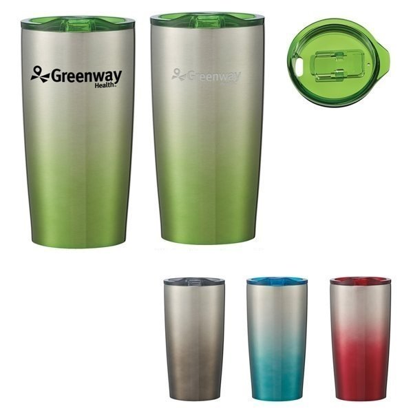 Promotional 20 oz Gradient Himalayan Tumbler With Stuffer