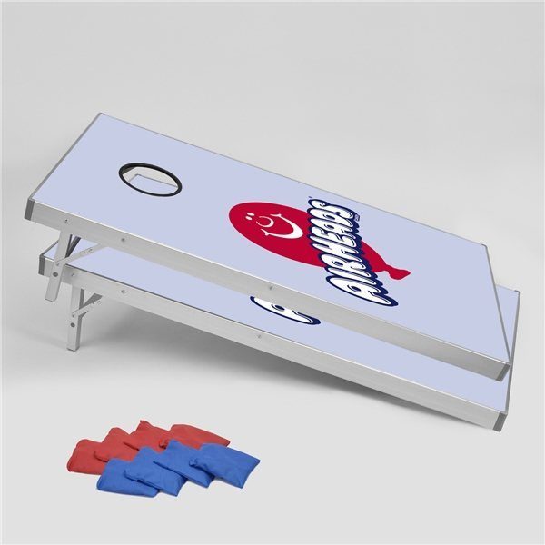 Promotional Aluminum Corn Hole Board Game