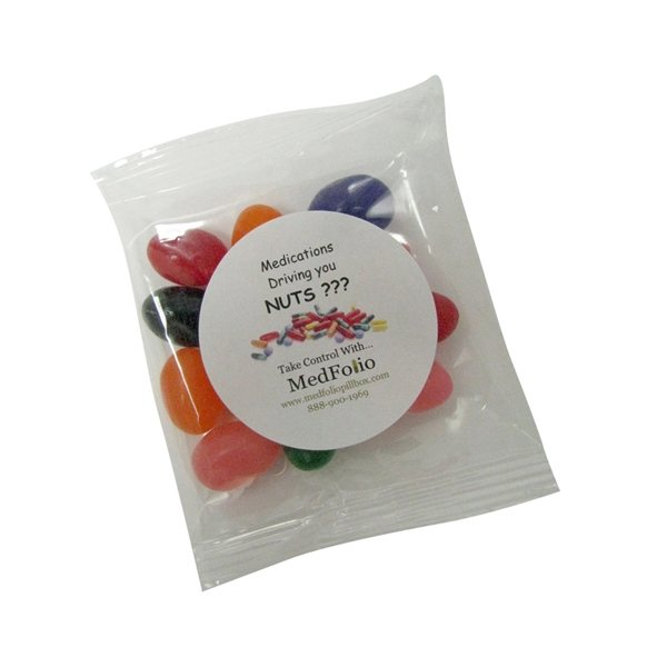 Promotional 1oz. Goody Bag with Assorted Jelly Beans