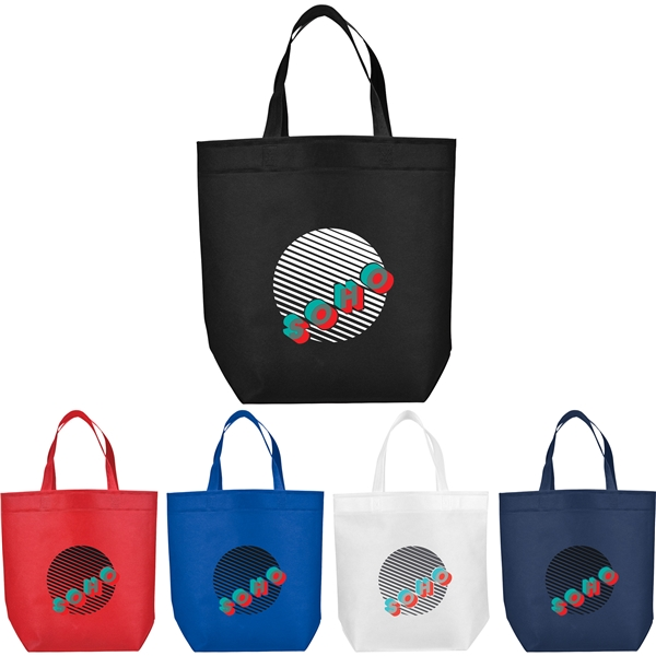 Challenger Non-Woven Shopper Tote - Customized Tote Bags 3e4d713fdbeae