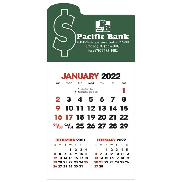 Promotional 3- Month View Stick Up Grid
