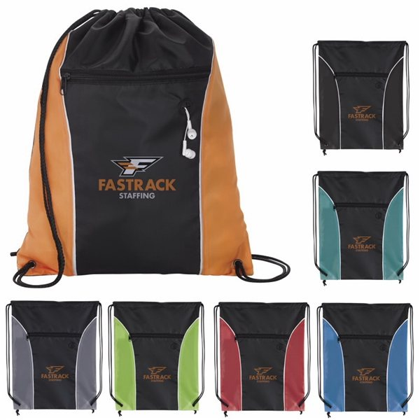 Promotional Midpoint Drawstring Backpack