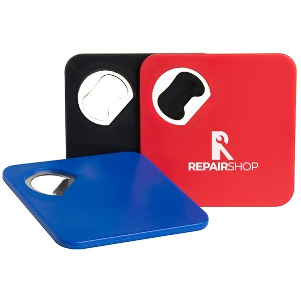 Promotional Bottle Opener Coaster