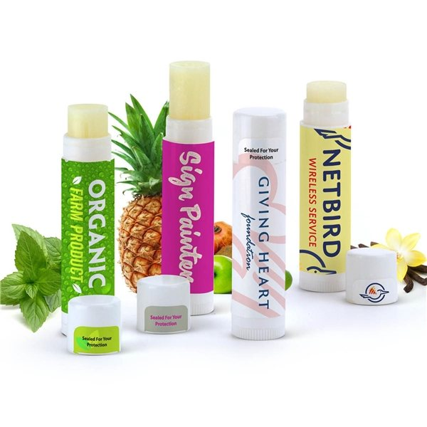 Promotional Natural Beeswax Lip Balm