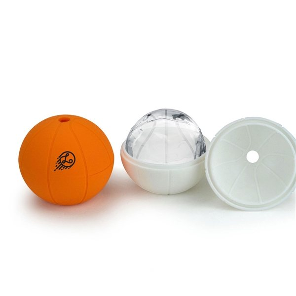 Promotional Sports Silicone Sphere Ice Mold