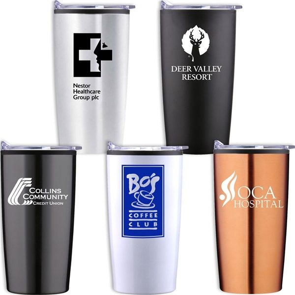 Promotional 20 oz. Econo Stainless Traveler
