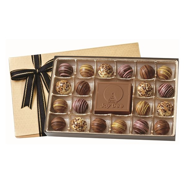 Promotional Truffle Gift Box With 20 Truffles