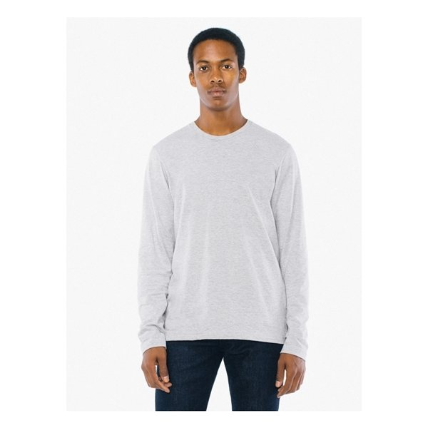 Promotional American Apparel Unisex Power Washed Long - Sleeve T - Shirt