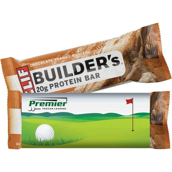 Promotional Clif Builders Protein Bar - Chocolate Peanut Butter