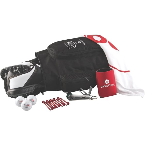Promotional Deluxe Shoe Bag Kit with DT TruSoft Golf Ball