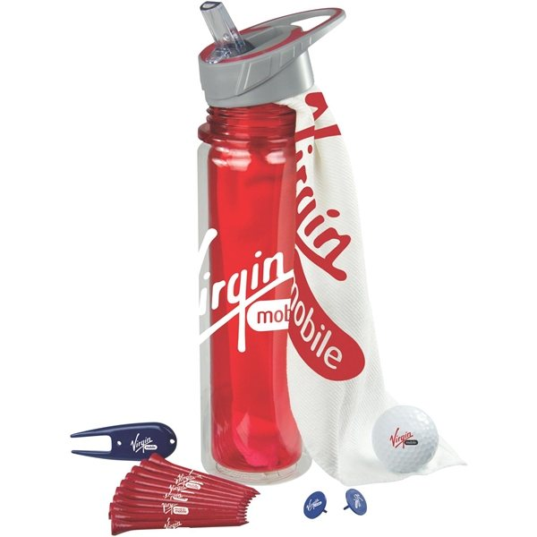 Promotional Hydrate Golf Kit with DT TruSoft Golf Ball