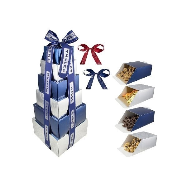 Promotional Tower of Eight Assorted Treats