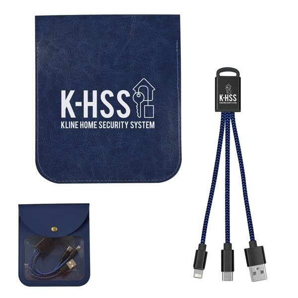 Promotional Square Charging Buddy Kit
