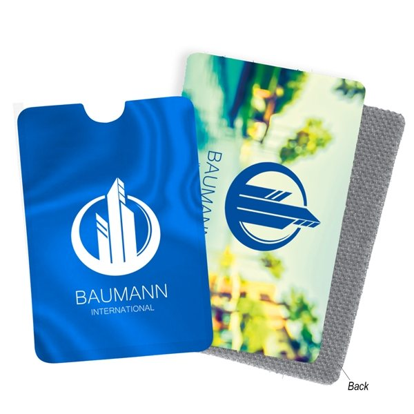 Promotional RFID Phone Sleeve And LintCard(TM) Kit