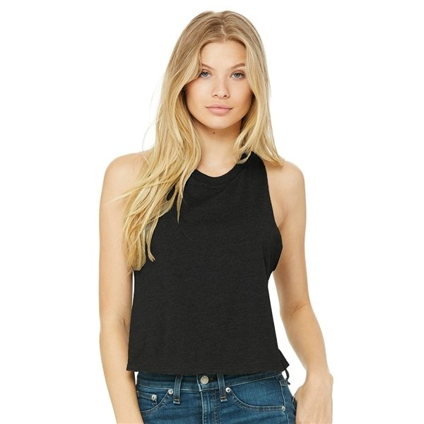 Promotional Bella + Canvas - Womens Racerback Cropped Tank - 6682