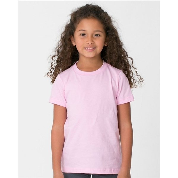 Promotional American Apparel - Toddler Poly - Cotton Short Sleeve T - Shirt