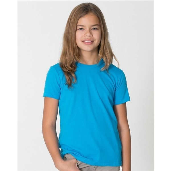 Promotional American Apparel - Youth Poly - Cotton Short Sleeve T - Shirt
