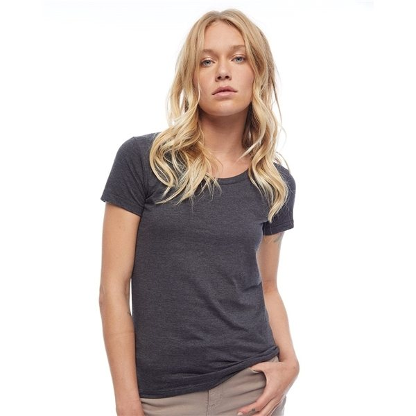 Promotional American Apparel - Womens Poly - Cotton Short Sleeve T - Shirt
