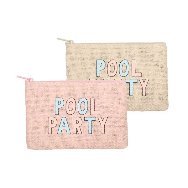 Promotional Poptart Shaped Straw Pouch