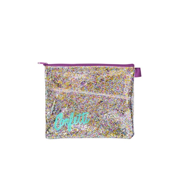 Promotional Dollface Peek - A - Boo Pouch Confetti