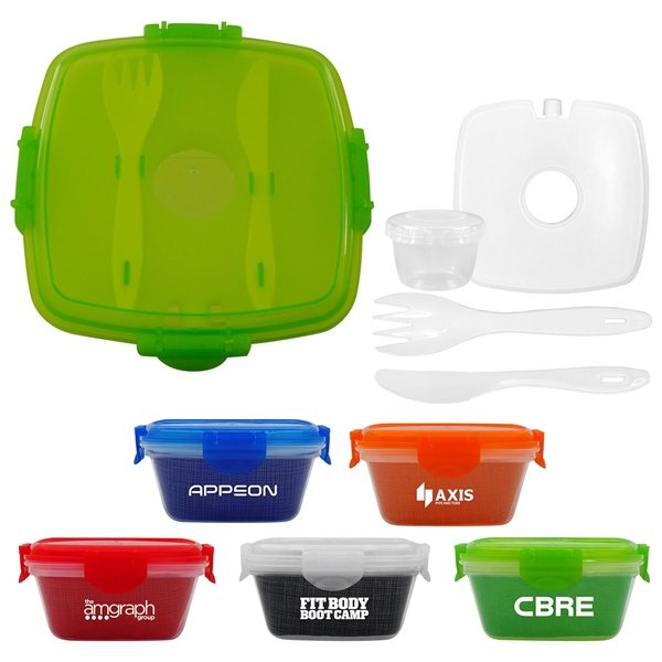 Promotional Chillin Stand Clip Top Container