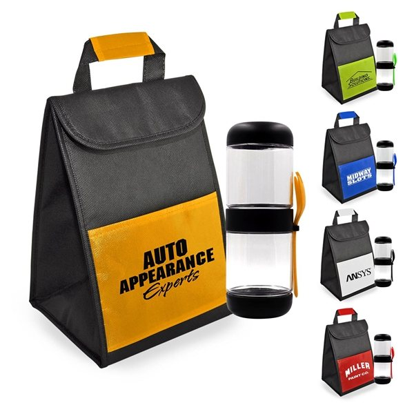 Snack Cooler Set - Lunch Bags   Cooler Tradeshow Giveaways 9d847b383d4ab