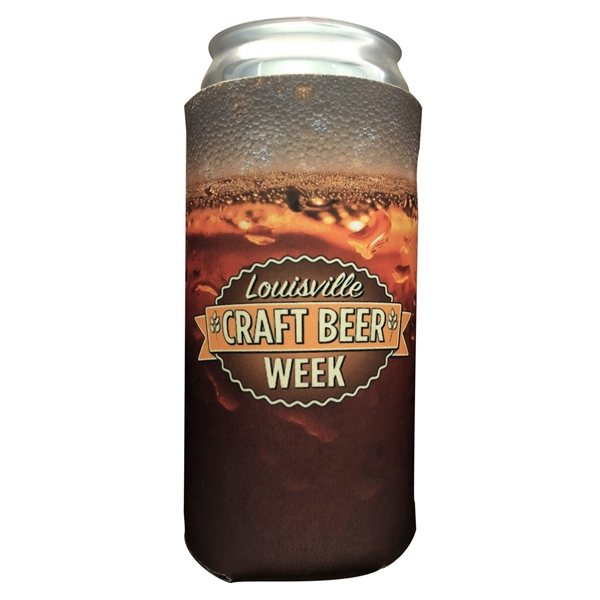 Promotional 32 oz Crowler Full Color Coolie