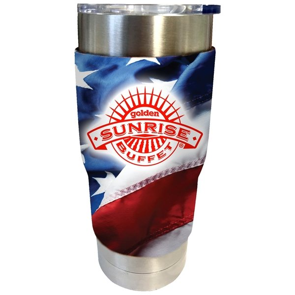 Promotional Neoprene Sleeve for 20 oz - 22 oz Tumblers
