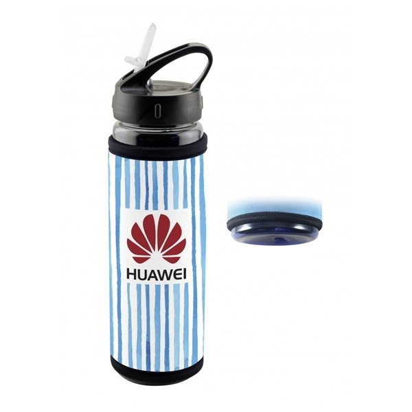 Promotional Frosty Full Color Cold Sleeve Bottle