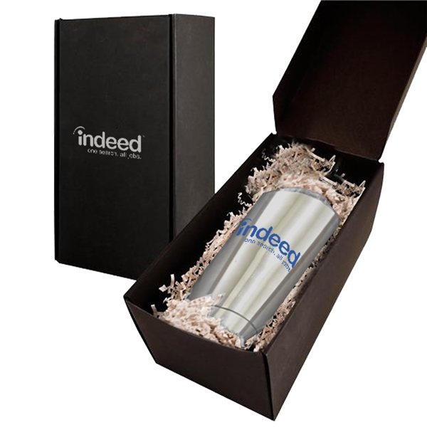 Promotional Soft Touch Gift Box with Vacuum Tumbler