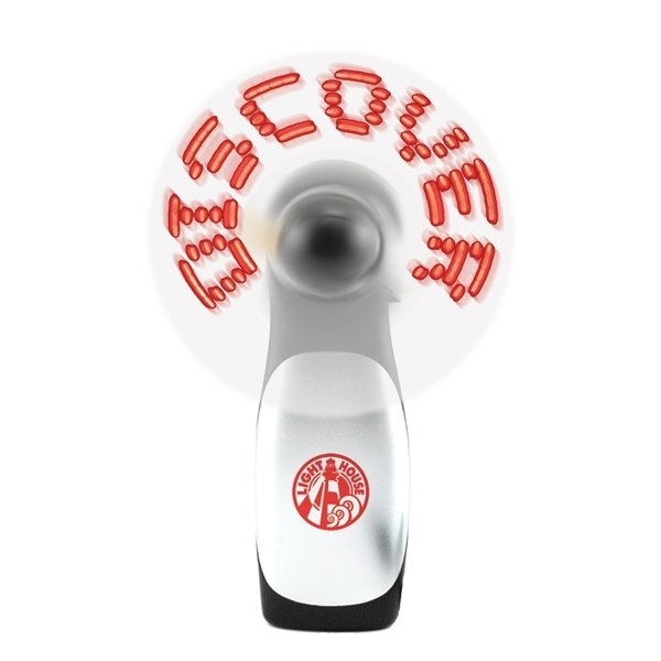 Promotional Programmable Lighted Message Fan