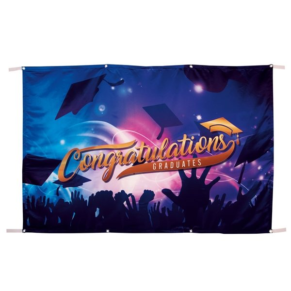 Promotional Satin Banner 4 x 6