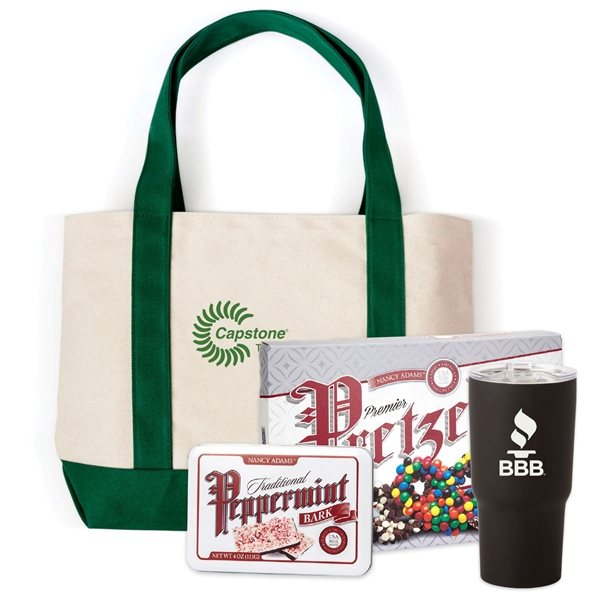 Promotional Canvas Boat Tote Gift Set