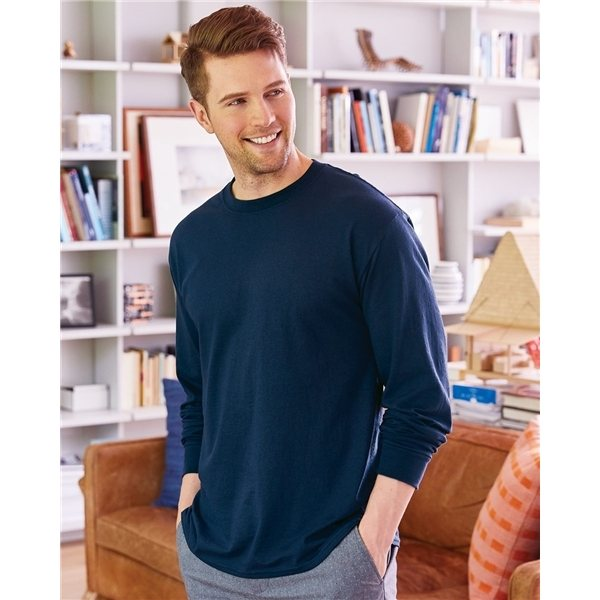 Promotional Hanes - ComfortSoft(R) Long Sleeve T - Shirt