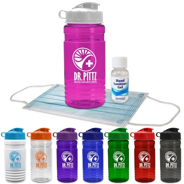 Promotional Sport Bottle With Mask And Hand Sanitizer
