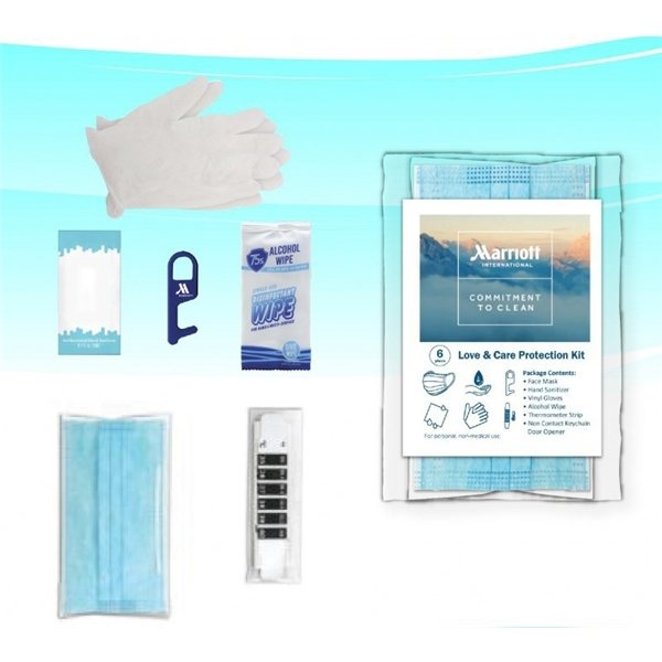 Promotional 6- Piece Personal Protection Kit