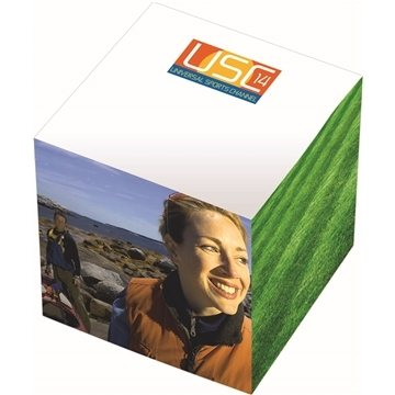 """Bic 3""""X 3'' X 3'' Adhesive Sticky Note Cube Pad"""