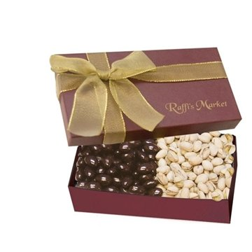 The Executive Gift Box - Chocolate Covered Almonds & Pistachios