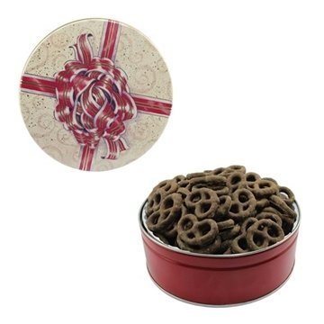 The Royal Tin - Mini Chocolate Pretzels