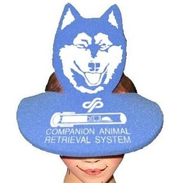 Dog Head Pop-Up Visor