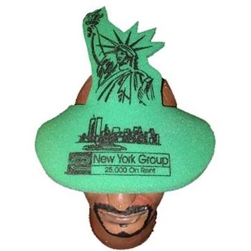 Statue Of Liberty Pop-Up Visor