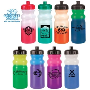Custom Color Changing Mood Sports Bottle - 20 oz