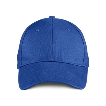 ANVIL® Solid Brushed Twill Cap