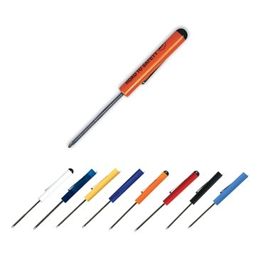 Fixed #0 Phillips Blade Screwdriver - Button Top