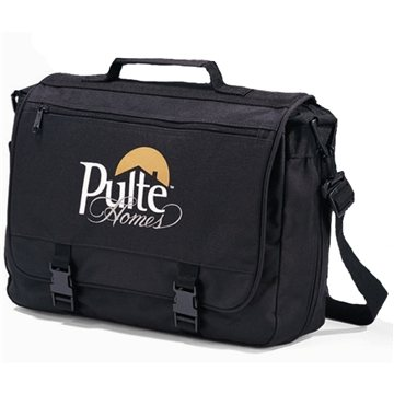 Polyester Multifunction Gemline Executive Saddlebag Black
